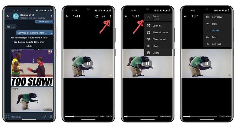 telegram beta 7 9 0 nueva función de velocidad de video