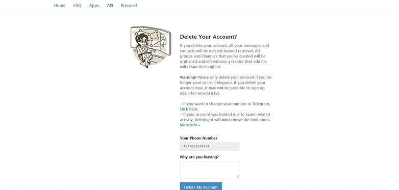 telegram how to delete account 2