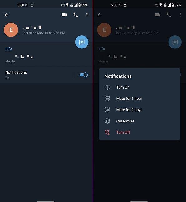 Sichtbar telegram kontakte nicht Telegram blockieren