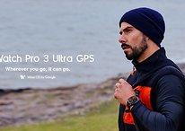Smartwatch mit bis zu 45 Tagen Akku: Mobvoi stellt Ticwatch Pro 3 Ultra vor