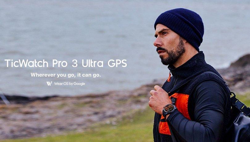 Mobvoi lance la TicWatch Pro 3 Ultra GPS et promet jusqu'à 45 jours d'autonomie