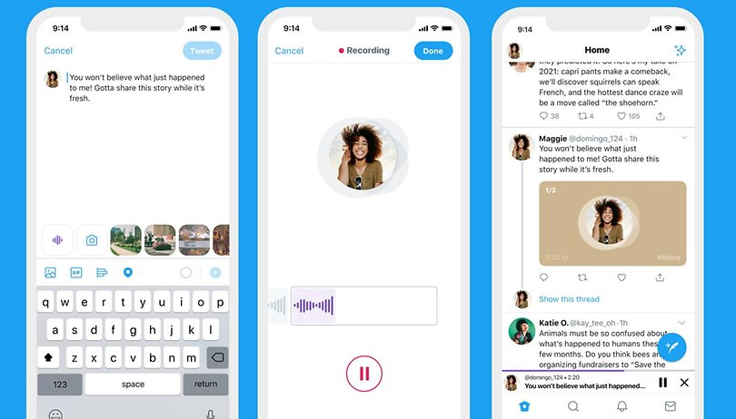 Twitter add vocal tweets on iPhone, a moderation nightmare in sight