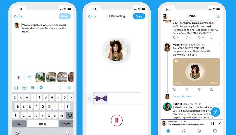 Twitter et ses tweets vocaux sur iPhone, un cauchemar de modération en vue