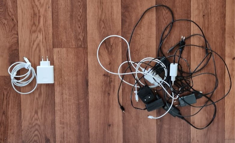 Universal charger against multiple smartphone chargers