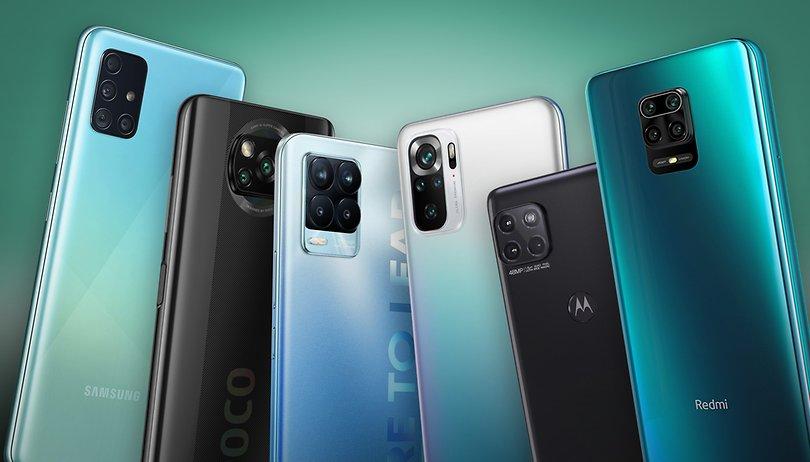 Die besten Smartphones unter 300 Euro: 120 Hz, 5G und 108 Megapixel