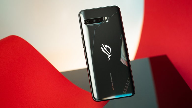 NextPIT Asus ROG Phone 3 back