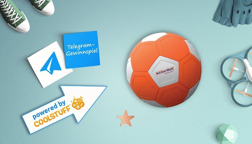 Das Telegram Gewinnspiel: Gewinne einen Trickfußball
