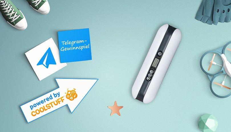 Das Telegram Gewinnspiel: Gewinne eine digitale Luftpumpe mit Druckmesser