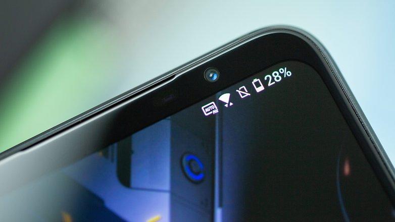 NextPit Asus ROG Phone 5 front camera