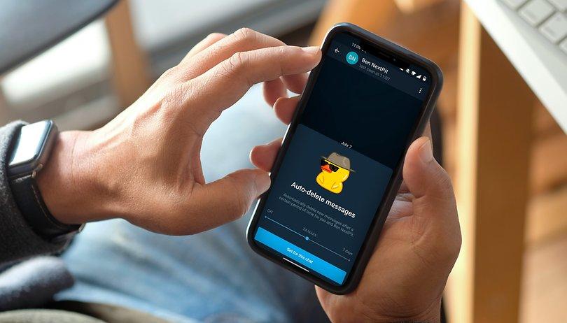 Telegram: como apagar automaticamente todas as suas mensagens