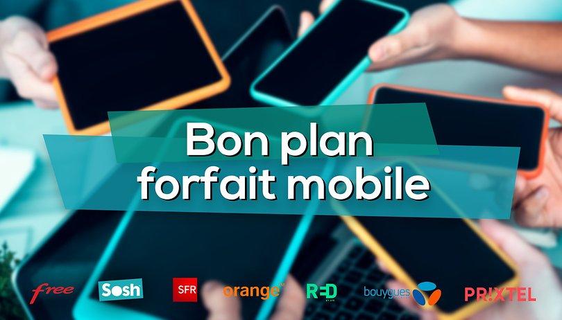 """Bon plan forfait mobile: Les offres """"Série limitée"""" de Sosh à partir de 9,99€/mois"""