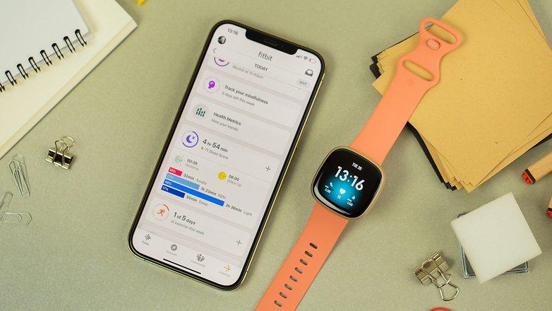 NextPit Fitbit Versa 3 app