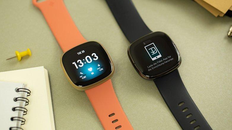 NextPit Fitbit Versa 3 comparison