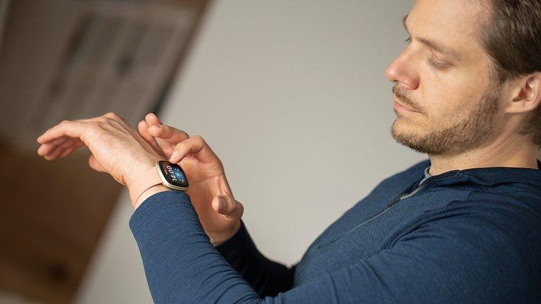 NextPit Fitbit Versa 3 stefan test