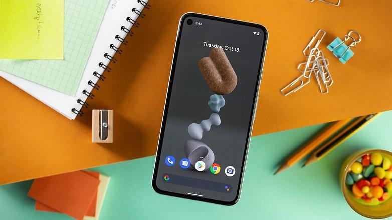 NextPit Google Pixel 5 screen