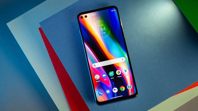NextPit Motorola Moto G 5G Plus in front