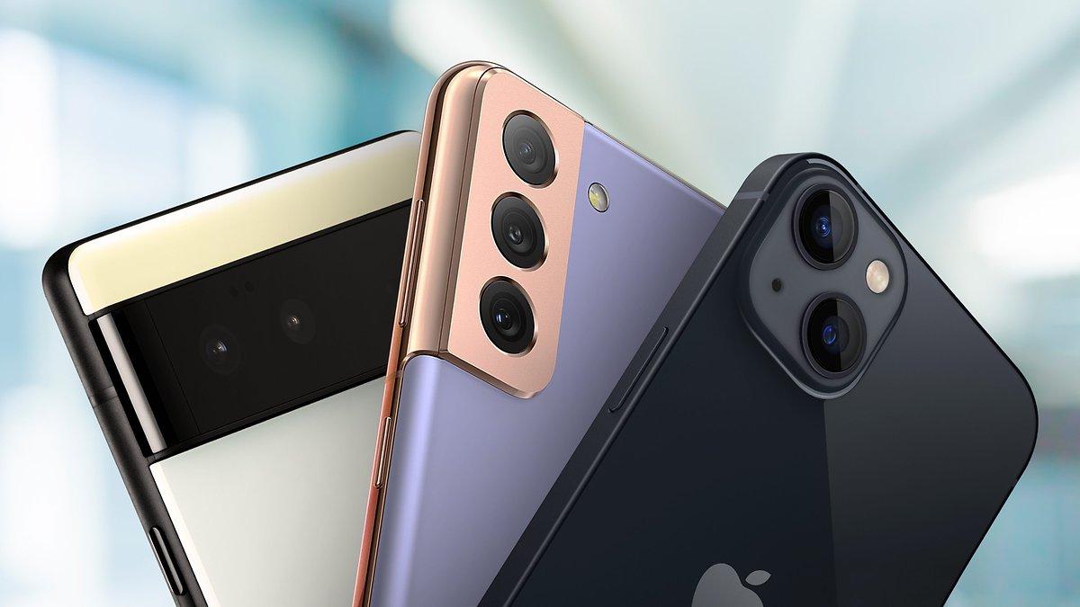 iPhone 13 vs Pixel 6 vs Galaxy S21: Quel flagship choisir en 2021?