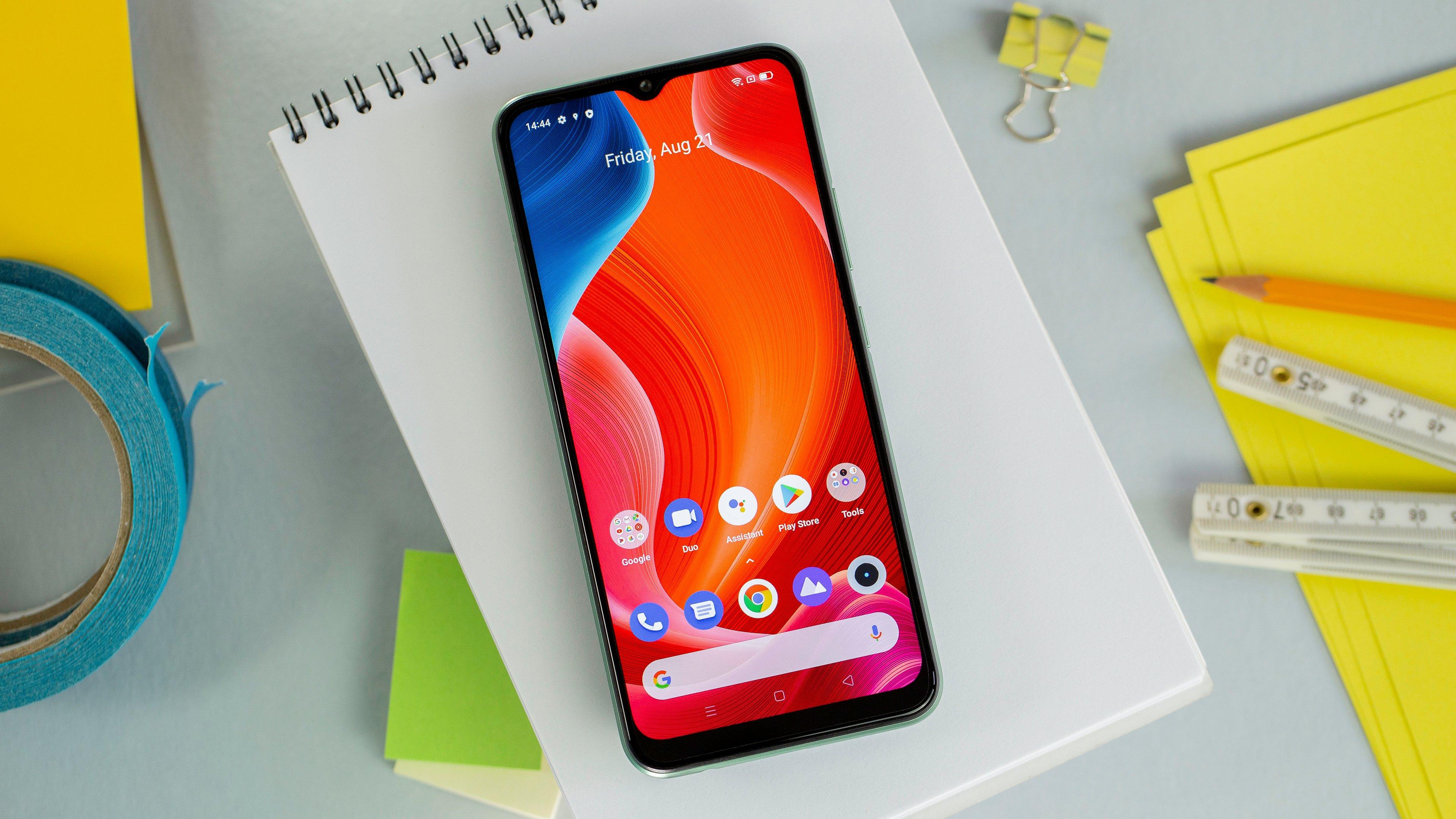 Le top des meilleurs smartphones à moins de 100 euros en 2021 - Realme C11 www.heavybull.com