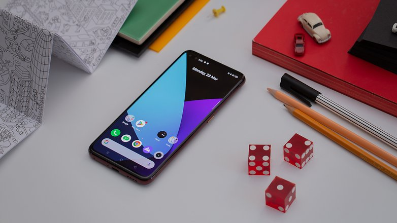 AndroidPIT realme x50 pro 5g in front