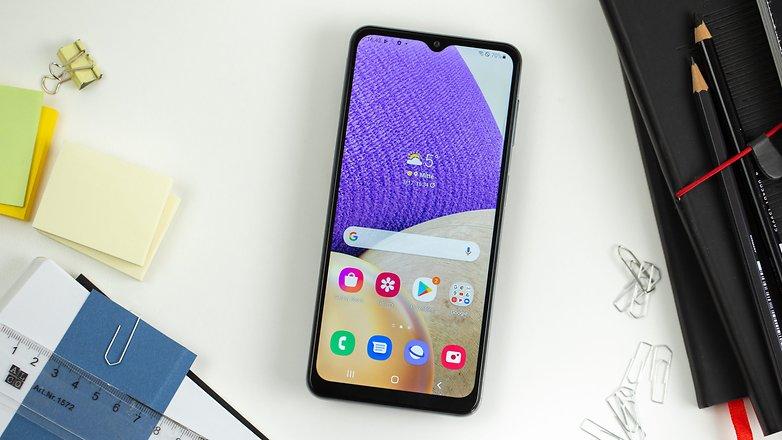 NextPit Samsung Galaxy A32 display