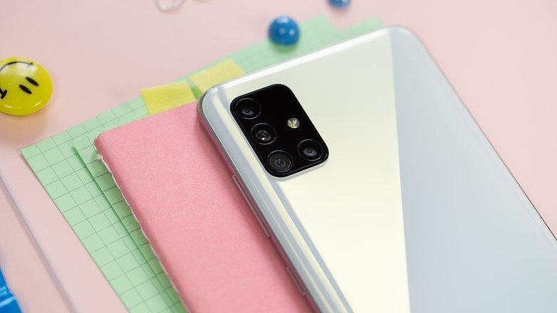 NextPit Samsung Galaxy A51 back camera