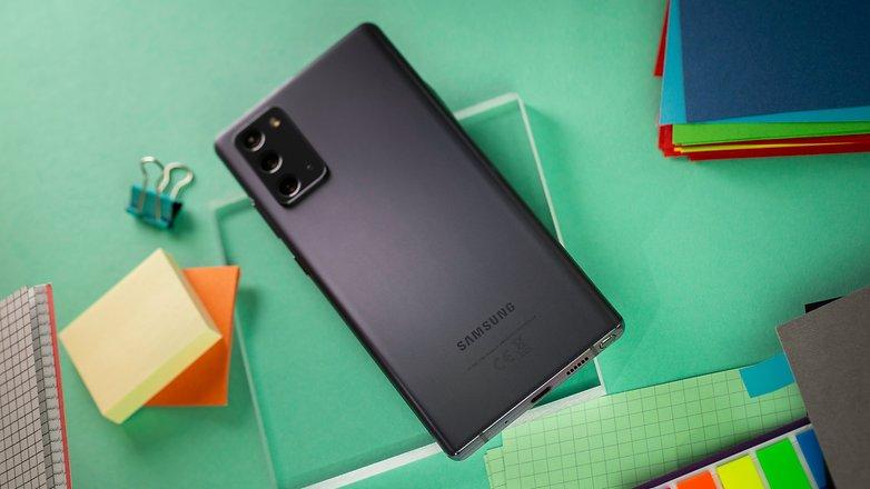 NextPit Samsung Galaxy Note 20 volver