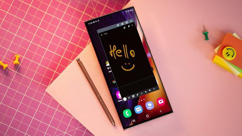 NextPit Samsung Galaxy Note 20 Ultra note