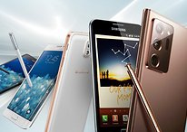 Die Geschichte von Samsungs Galaxy-Note-Serie: War's das?