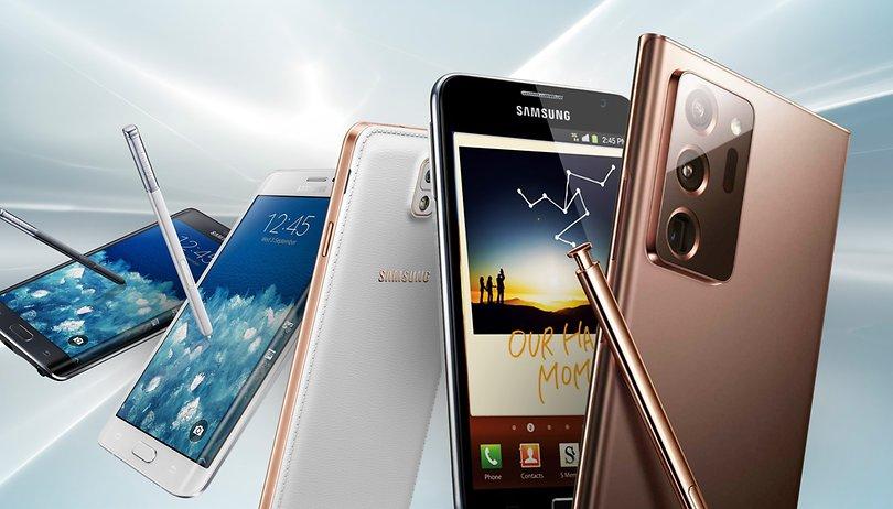 Série Samsung Galaxy Note: está na hora de dizer adeus?