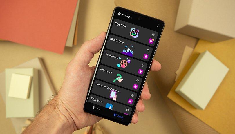 Good Lock für Samsung Galaxy: wie ein offizielles Custom-ROM