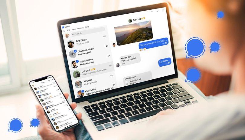 Signal: So nutzt Ihr den Messenger auf dem Desktop