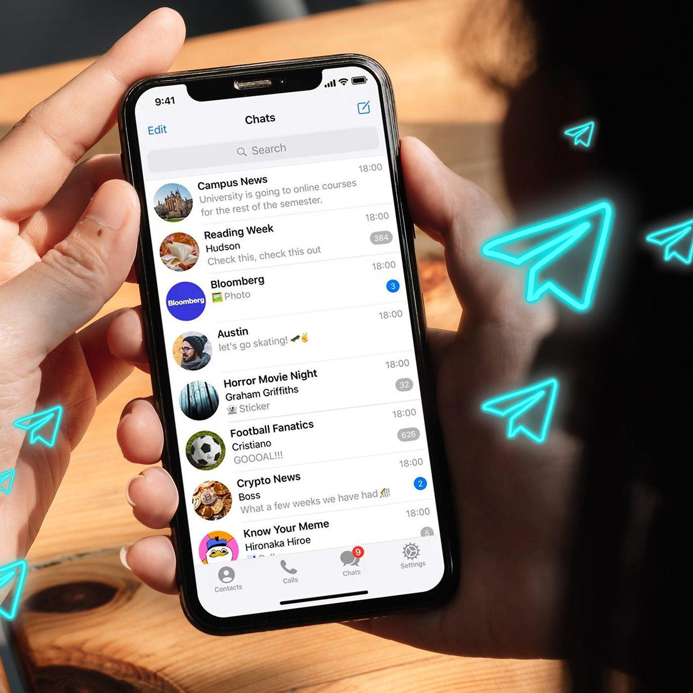 Kontakte nicht sichtbar telegram Wie man