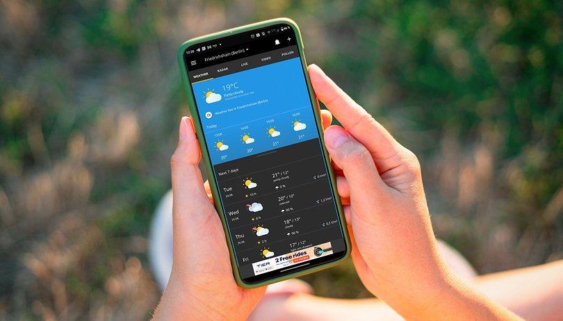 Die besten Wetter-Apps für Android & iOS: Hier scheint die Sonne aufs Display