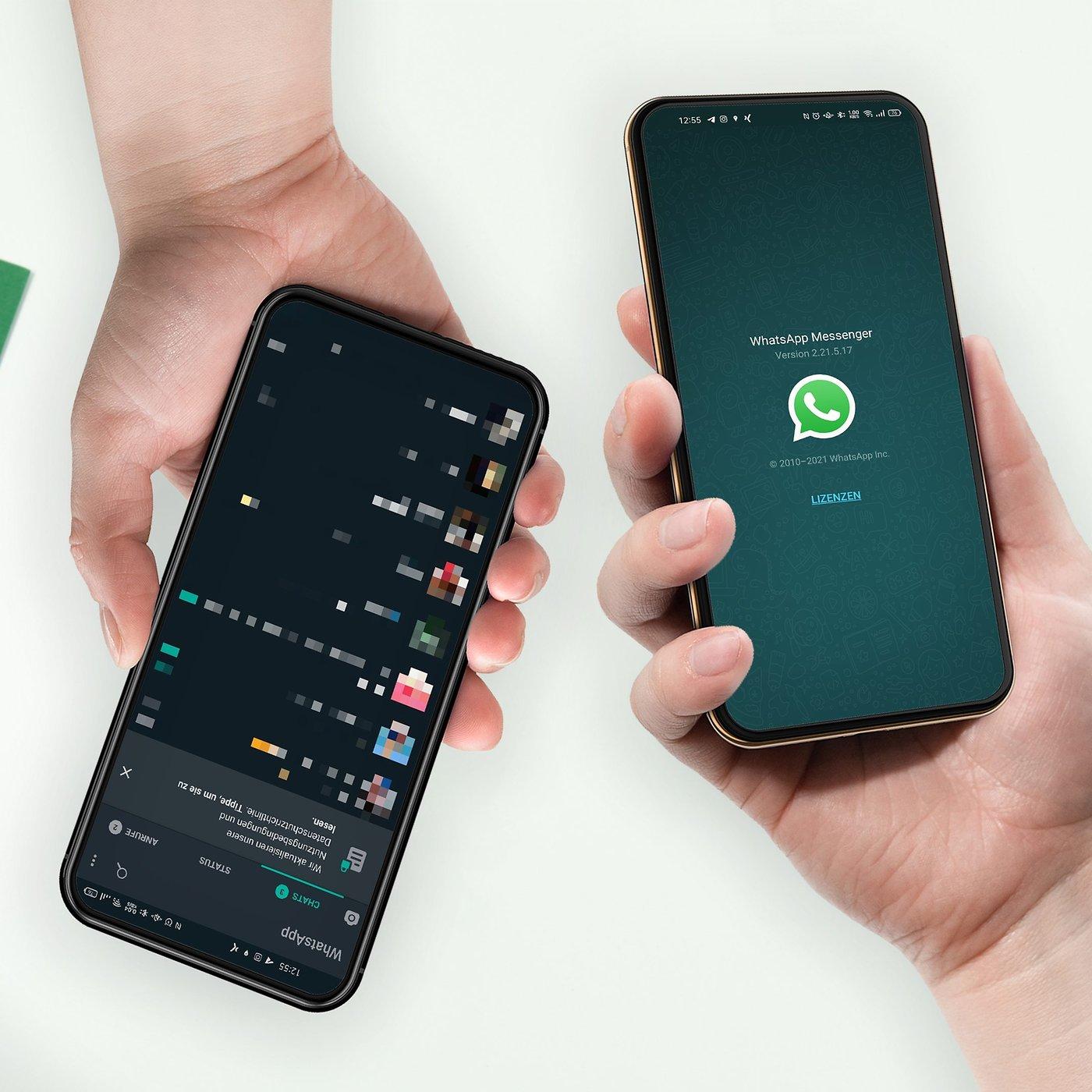 WhatsApp auf zwei Geräten oder mit zwei Nummern nutzen So geht's ...