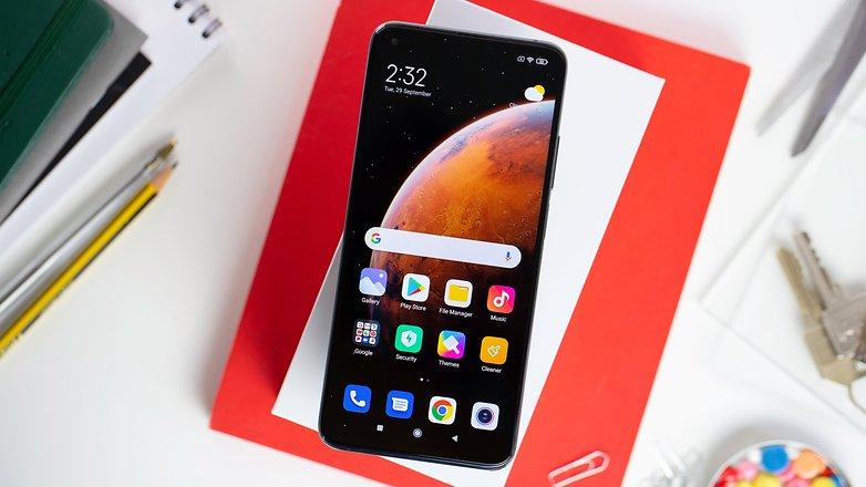 NextPit Xiaomi Mi 10T Pro screen