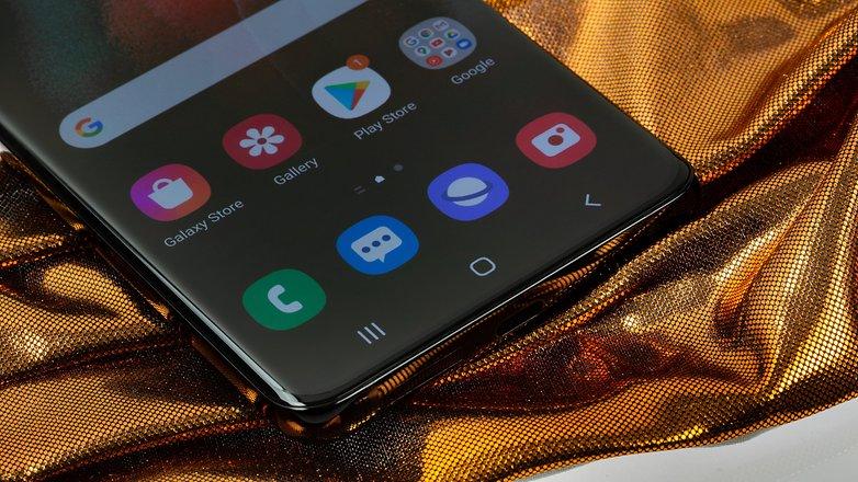 NextPit Samsung Galaxy S21 Ultra USB