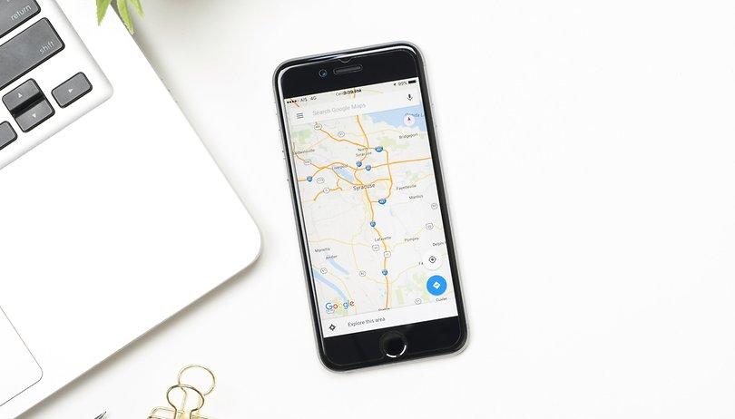 Como encontrar o local de suas fotos no Google Maps