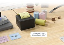 Print Alexa shopping list: Cool mini printer goes into production