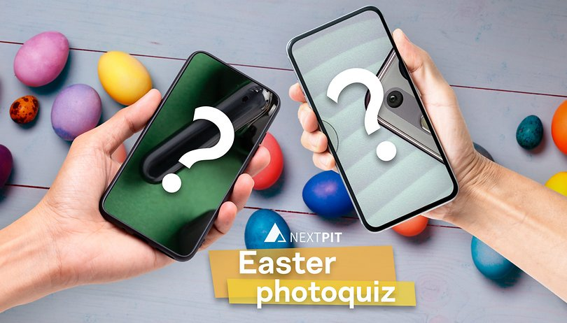 Easter photo quiz: Spot the smartphones!