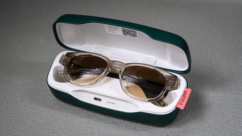 Fauna Audio Glasses case open NextPit 6