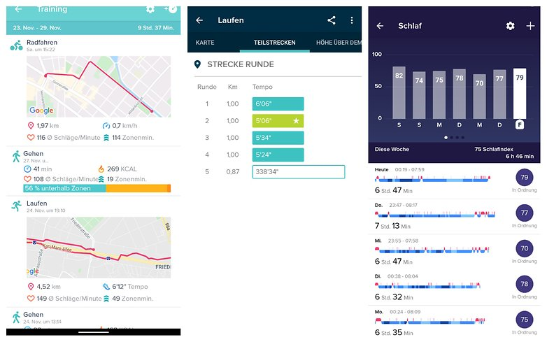 Fitbit Collage