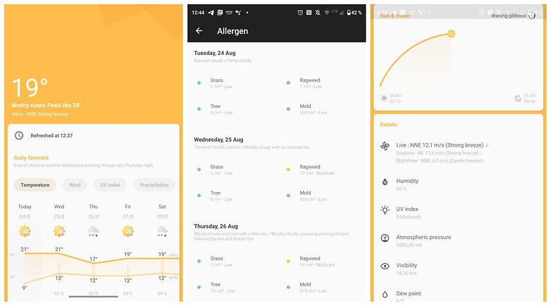 Geometry Weather Android NextPit
