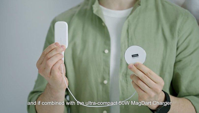 Realme MagDart anunciado: clone do MagSafe traz 50 watts de potência