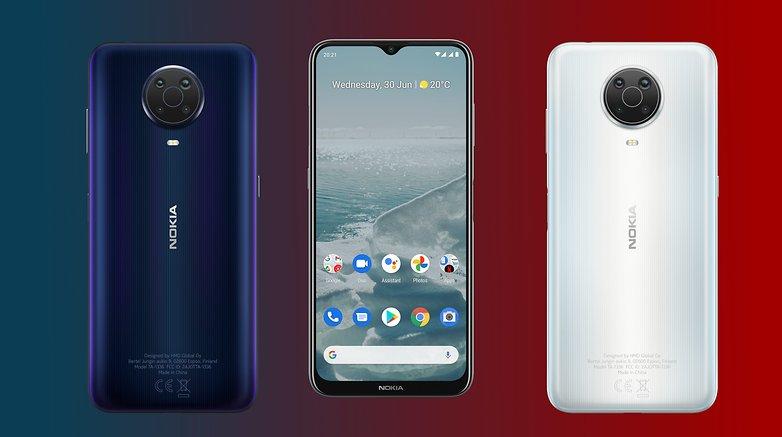 Avance de Nokia G20 NextPit