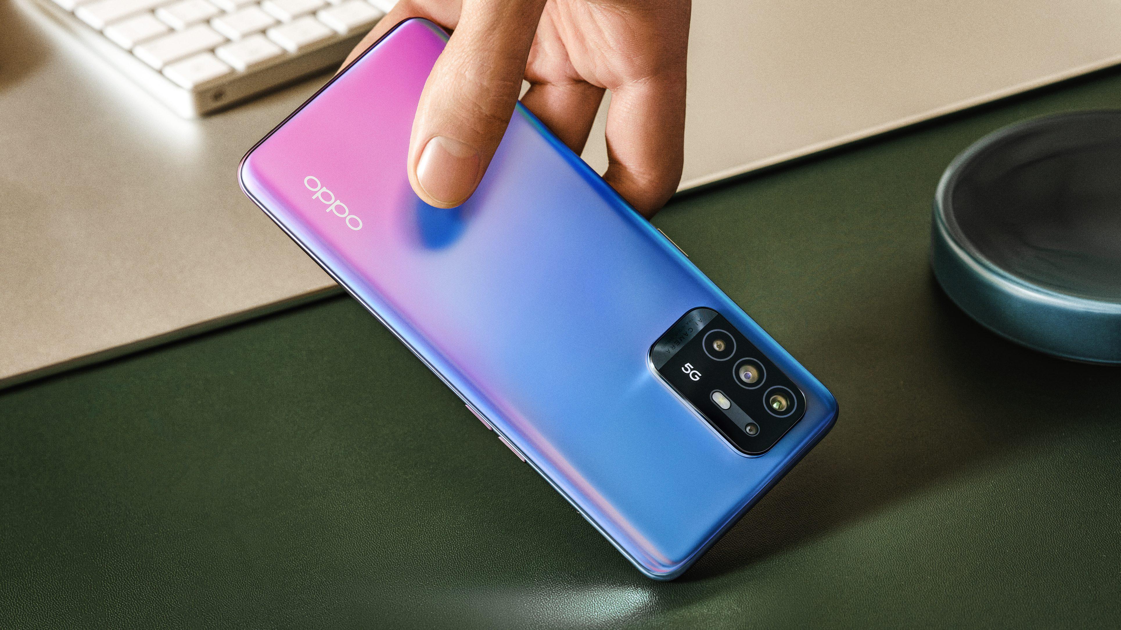 Oppo mostra novos celulares da linha A com 5G e tela de 90 Hz