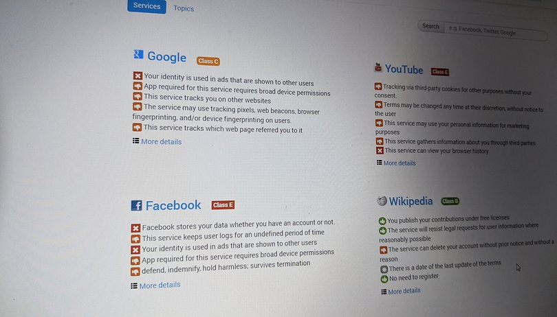 Cette extension de navigateur résume et classe les CGU de Facebook, Apple ou Amazon
