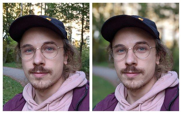 Der Porträtmodus funktioniert bei Gesichtern besonders gut. Doch auch Haare fallen dem Weichzeichner