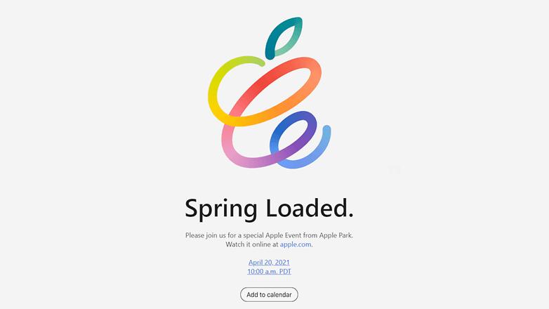 Spring loaded apple