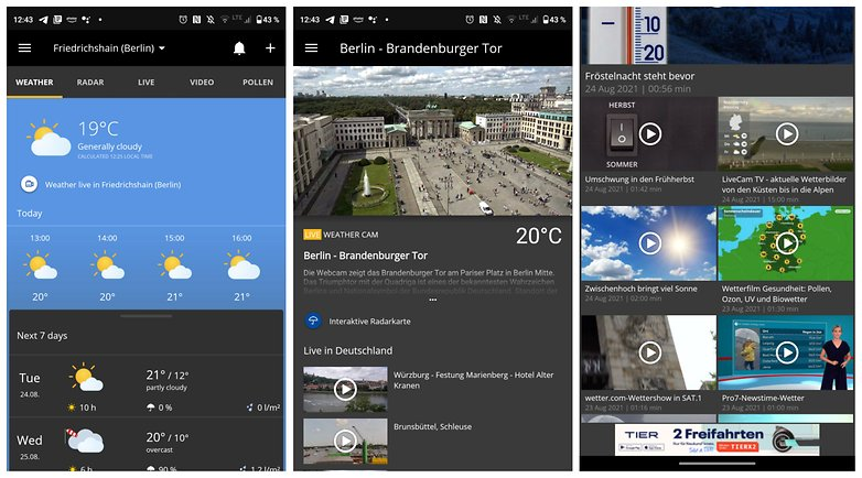 WetterCOM Weather Android NextPit