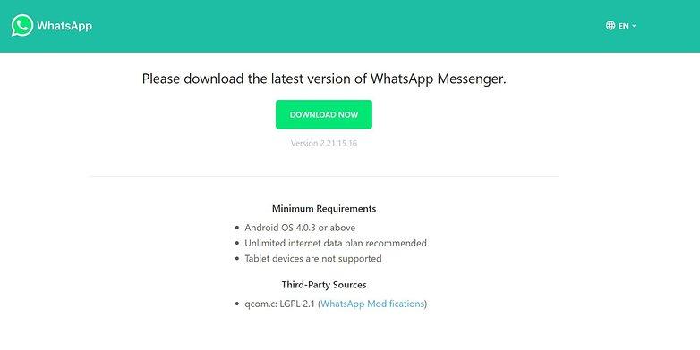 WhatsApp update Android 03